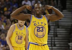 Warriors power forward Draymond Green is the NBA s best center