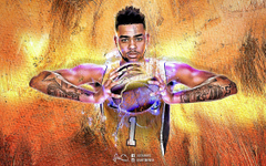 D Angelo Russell NBA Wallpapers 3 0 by skythlee