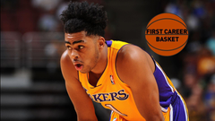 D Angelo Russell First Career Points
