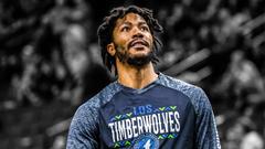 Timberwolves news Derrick Rose was a