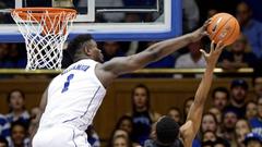 Williamson shows off athleticism in Duke win