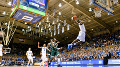 WATCH Duke s Zion Williamson continues to dunk it all
