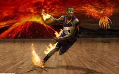 Eric Bledsoe fire wallpapers by btamdesigns