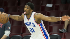 Brett Brown Joel Embiid has a chance to play in the NBA Summer