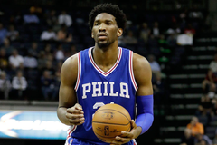 Embiid lone bright spot as Sixers get routed again