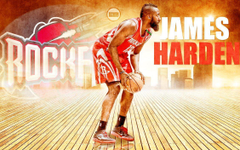 James Harden Dunking Wallpapers
