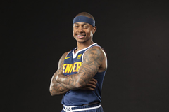 Denver Nuggets Tweet of the Week Isaiah Thomas hooks up teammates