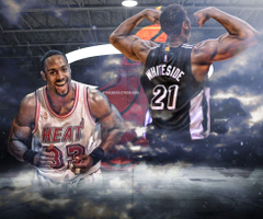 Alonzo Mourning and Hassan Whiteside by TheLeGoLotR