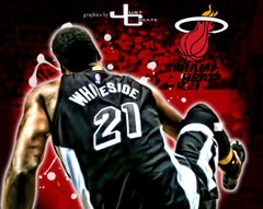 Hassan Whiteside graphics by justcreate Sports Edits