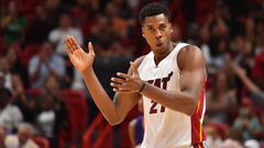 Heat news Hassan Whiteside responds to decreased role in Miami