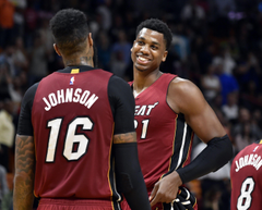 The Stretch 4 Hassan Whiteside shines and Dion Waiters falls