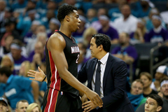 Erik Spoelstra and Hassan Whiteside finalists in NBA Awards Show