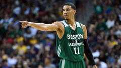 Time to Schein Jayson Tatum is excited to play with Kyrie Irving