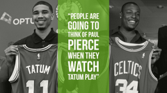 O Connor People are going to think of Paul Pierce when they