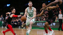 Gordon Hayward adjusting to new role coming off the bench for