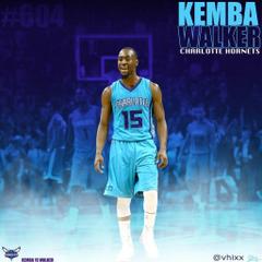 Kemba Walker Charlotte Hornets by vernhix7 deviantart on
