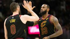 NBA wrap LeBron James triple