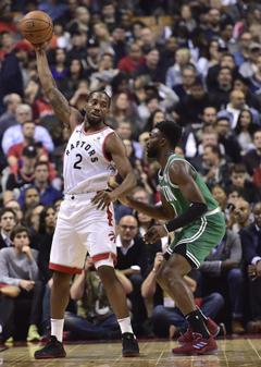 Kawhi Leonard scores 31 points Raptors beat Celtics 113