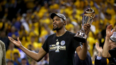 Warriors Kevin Durant trolls Russell Westbrook with cupcake hat