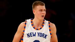 Kristaps Porzingis I hope to spend my whole career with Knicks