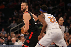 Game Recap Raptors outlast the Knicks in Marc Gasol s debut win