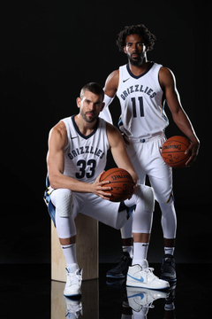 Are y all ready The grind don t stop Marc Gasol and Mike Conley