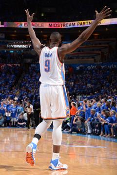 Serge Ibaka Ignites the Thunder in Game 3 vs the Spurs