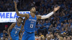 Thunder news Paul George says it s good for OKC to struggle early