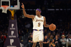 Los Angeles Lakers Rajon Rondo Could Miss a Month of Action