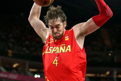 Eurobasket report Pau Gasol is the last Spur standing