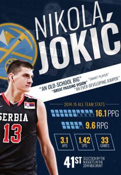 Nikola Jokic Infographic