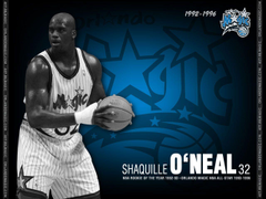 Shaquille O Neal Professional Basketball Player Basketball