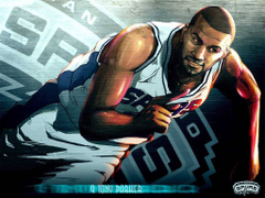 Amazing illustrated Tony Parker Wallpapers