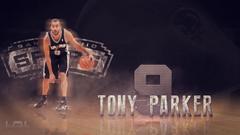 Photoshop NBA Tony Parker SpeedArt
