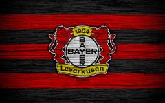 wallpapers Bayer Leverkusen 4k Bundesliga logo Germany