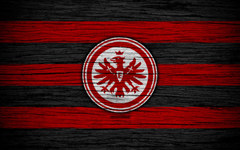 wallpapers Eintracht Frankfurt 4k Bundesliga logo