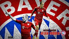Arjen Robben Bayern Munchen HD Wallpapers