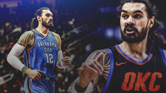 Thunder news Steven Adams details his first time embracing Spurs