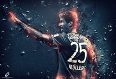 footballers Thomas Muller Germany Bundesliga Champions League