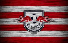 wallpapers RB Leipzig 4k Bundesliga logo Germany