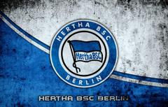 Wallpapers wallpaper sport logo football Berlin Hertha BSC