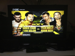 WWE NXT image Hideo Itami and Finn Bálor vs Tyler Breeze and