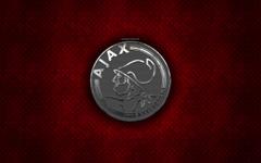 wallpapers AFC Ajax Dutch football club red metal texture