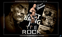 Wallpapers of The Rock WWE Superstars WWE Wallpapers WWE PPVs