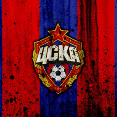wallpapers 4k FC CSKA Moscow grunge Russian Premier