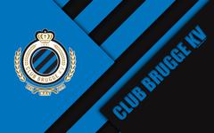 wallpapers Club Brugge KV 4k Belgian Football Club black