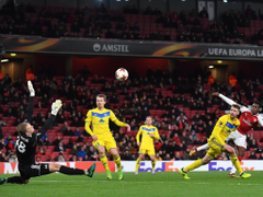 Arsenal claim attendance for BATE Borisov game was 54 648 but