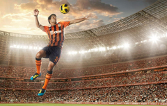 Wallpapers jump the ball stadium FC Shakhtar Donetsk Eduardo