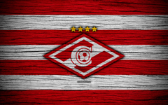 wallpapers FC Spartak Moscow 4k wooden texture Russian