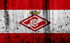 wallpapers 4k FC Spartak Moscow grunge Russian Premier